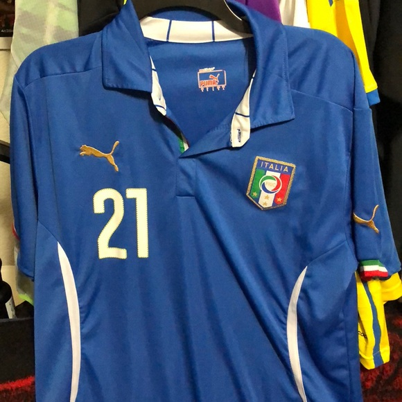 2014 Italy Home Jersey -  21 Pirlo LARGE. M 5b3cca83a5d7c604d1ee18be b920a8de6